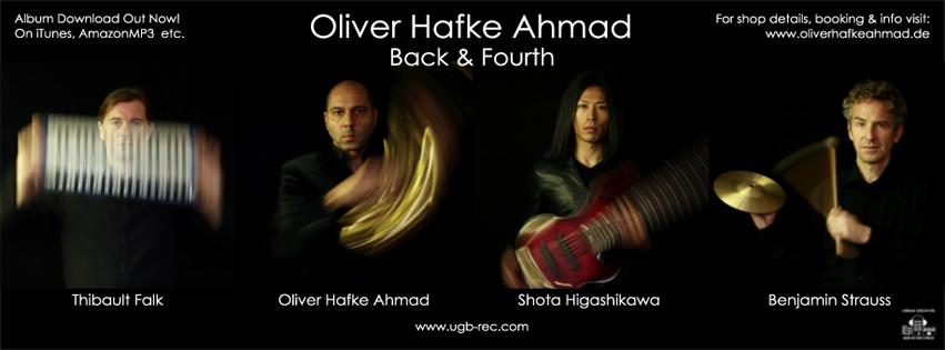 Oliver Hafke Ahmad - Back & Fourth, Oct. 1st 2014